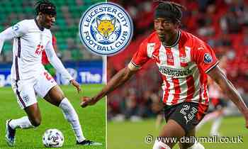 Leicester join AC Milan and RB Leipzig in race to sign £15m-rated England u21 winger Noni Madueke