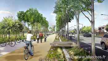 Val-d'Oise : à Osny, les travaux de la chaussée Jules-César démarrent - Les Échos