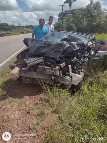 Duas pessoas morrem em acidente na rodovia PA-124, em Capanema - G1