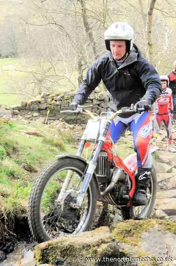 Richard Sadler rides to hattrick of victories