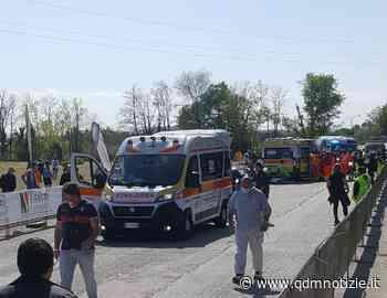 CHIARAVALLE / Trofeo Liberazione, caduta al traguardo tre giovani ciclisti feriti - QDM Notizie