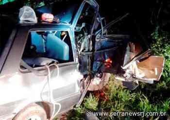 Homem morre após carro capotar na RJ-116, em Cachoeiras de Macacu - Serra News