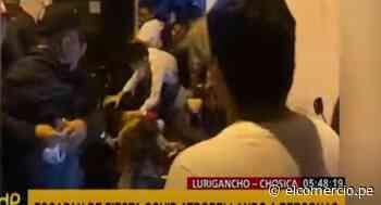 Chosica: jóvenes escapan de fiesta COVID-19 para evitar ser detenidos por la policía - El Comercio Perú