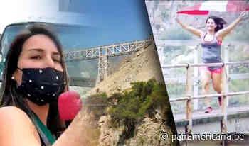 Desde Chosica: Este es el puente más extremo del Perú | Panamericana TV - Panamericana Televisión