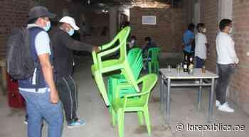 Lambayeque: autoridades intervienen prostíbulo clandestino en Jayanca - LaRepública.pe