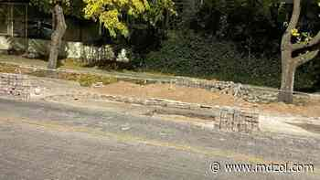 Pasé y miré: peligro para automovilistas en calle Boulogne Sur Mer - MDZ Online