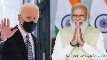 PM Narendra Modi holds `fruitful discussion` with Joe Biden, discusses efficient supply of COVID vaccine raw material