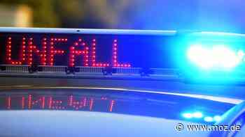 Unter Alkohol: Beifahrer verursacht Unfall bei Bad Saarow - Fahrerin leicht verletzt - moz.de
