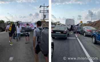 Normalista bloquean aeropuerto de Oaxaca y carretera hacia Puerto Escondido - Milenio