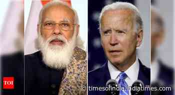 President Biden phones PM Modi to discuss Covid; US jolted into action after criticism of silence over India's plight