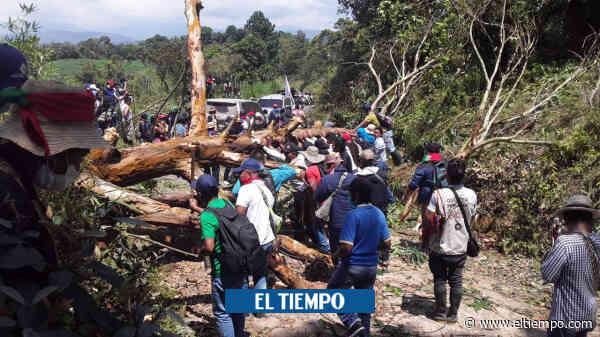 Indígenas capturan a 12 personas en medio de disturbios en Caldono - El Tiempo