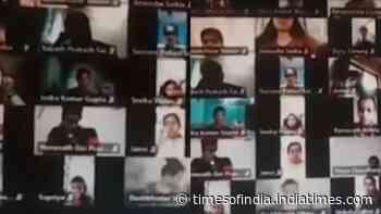 Video: IIT professor 'abuses' students, stirs row