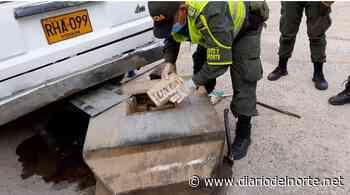Policía incauta en Dibulla 100 kilos de drogas que estaban camufladas en un carro - Diario del Norte.net