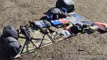 2 militant hideouts busted in Jammu and Kashmir`s Kulgam, arms and ammunition recovered