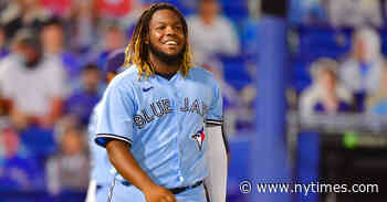 Vladimir Guerrero Jr.'s Trainer and Grandmother Helped With Weight Loss