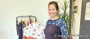 Barberaz - Fabienne Petetin propose des vêtements en bois - La Voix de l'Ain