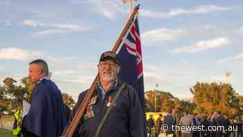 "Geraldton residents ""grateful"" for ANZAC Day dawn service - The West Australian"