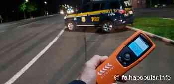 Condutor é preso por embriaguez ao volante em Soledade - Folha Popular