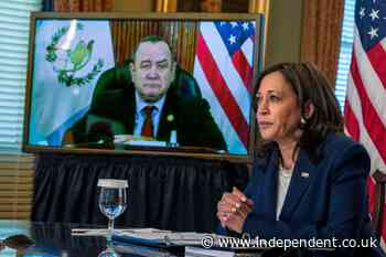 Harris meets virtually with Guatemalan president