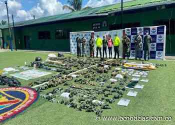 Destruido campamento de entrenamiento de las disidencias de LAS FARC en Timbiquí, Cauca - BC Noticias