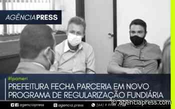 #Ipameri   PARCERIA EM NOVO PROGRAMA DE REGULARIZAÇÃO FUNDIÁRIA - agenciapress