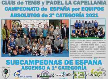 El Club La Capellanía se proclama subcampeón del Campeonato de España por Equipos Absolutos de 2ª categoría - Alhaurindelatorre.com