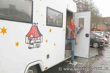 Kathrin Heinsohn aus Versmold ist Lehrerin für Zirkuskinder: Das rollende Klassenzimmer - Westfalen-Blatt