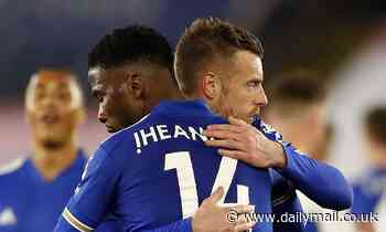 Jamie Carragher claims Kelechi Iheanacho will be Leicester City's new Jamie Vardy in the future