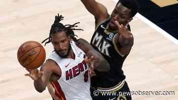 Bogdanovich, Collins lead injury-depleted Hawks past Heat - Raleigh News & Observer