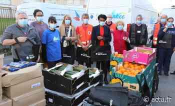 La Région distribue plus d'une tonne de colis alimentaires à Meaux - actu.fr