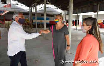 Julio Zamora supervisó trabajos del municipio de Tigre en El Talar - InfoBan