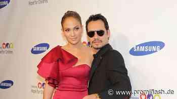 Sucht J.Lo nach Trennung Trost bei ihrem Ex Marc Anthony? - Promiflash.de