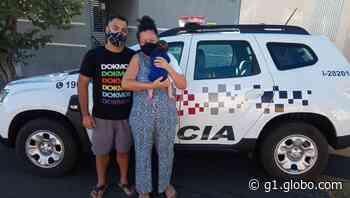 Policiais militares salvam bebê engasgado com leite materno em Ilha Solteira - G1