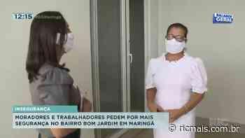 Moradores e trabalhadores pedem por mais segurança no bairro Bom Jardim em Maringá - RIC - RIC Mais