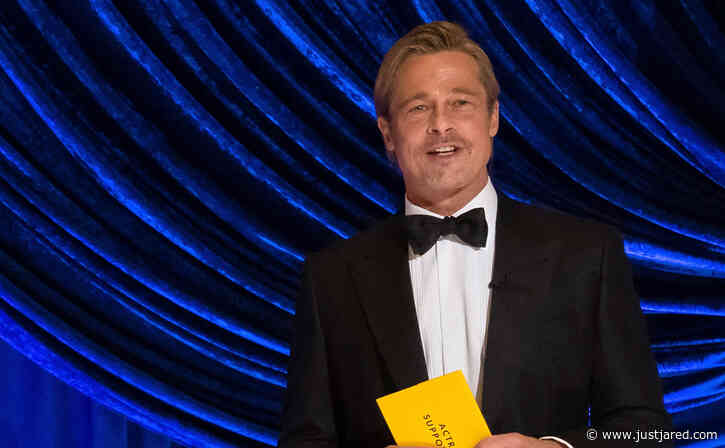 Brad Pitt Gave a Subtle Shout-Out to Leonardo DiCaprio at Oscars 2021 - Did You Catch It?
