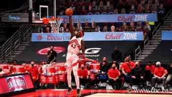 Siakam powers Raptors past depleted Cavaliers