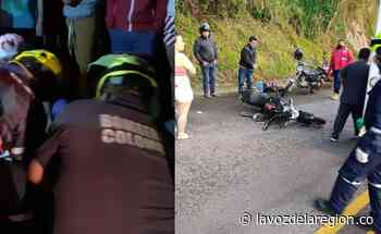 Varios heridos tras accidentado fin de semana en vías de Suaza - Huila