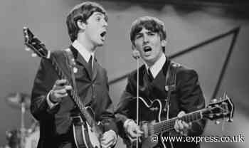 The Beatles: Sir Paul McCartney pays tribute to George Harrison and George Martin - Express