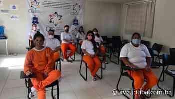 Presas de Piraquara recebem capacitação sobre empreendedorismo por meio de ação do Sebrae - XV Curitiba