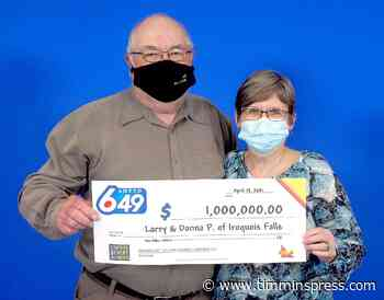 Iroquois Falls couple hits it big - Timmins Press