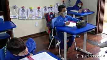 Ferraz de Vasconcelos retoma as aulas presenciais na rede municipal de ensino; veja situação em outras cidades - G1