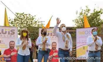 Luis Felipe León Balbanera recorre comunidades de Zacapu - El Diario Visión