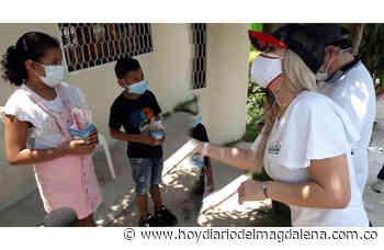 El Día del Niño se celebró puerta a puerta en Aracataca - HOY DIARIO DEL MAGDALENA