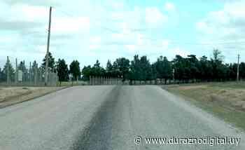 Intendencia de Durazno realiza trabajos viales en tránsito pesado de Santa Bernardina - duraznodigital.uy