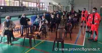 FOTOGALLERY: Vaccinazioni di gruppo a Farigliano e Clavesana - Provincia Granda