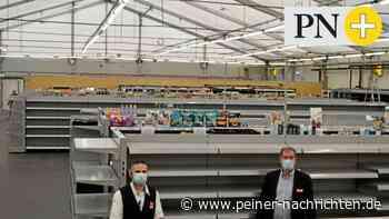 Rewe in Vechelde zieht in den Zeltverkauf - Peiner Nachrichten
