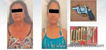 Capturan a dos mujeres armadas en Tepalcingo - Diario de Morelos