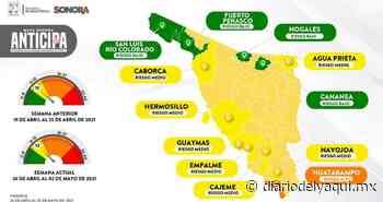 Llegan en Huatabampo a riesgo alto por covid - Diario del Yaqui