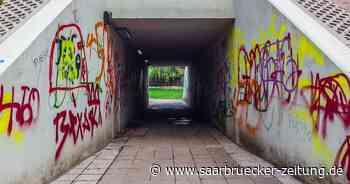 Müll, Graffiti, Zerstörung: auch in Homburg, Bexbach, Kirkel ein Thema - Saarbrücker Zeitung