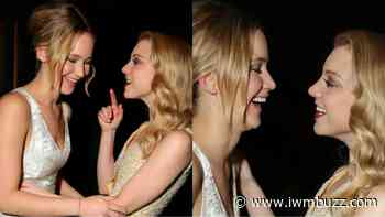 Throwback: When Jennifer Lawrence And Natalie Dormer Accidentally Lipkissed? Video Here - IWMBuzz